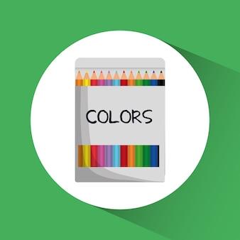 Ikona kolorów.