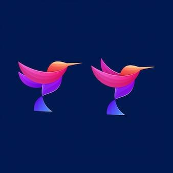 Ikona kolorowy ptak