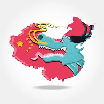Ikona kultury chińskiej smoka