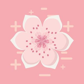 Ikona kwiat kwitnąć