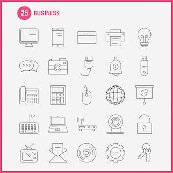 Ikona linii biznesowej