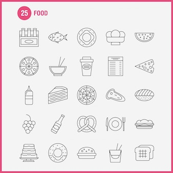 Ikona linii żywności