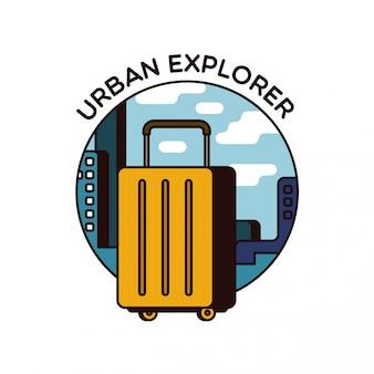Ikona liniowego bagażu