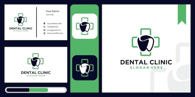 Ikona logo dentystycznego i liść, projekt opieki stomatologicznej z koncepcją ziołową, logo dla dentysty, na białym tle wektor symbolu zielonego liścia i zęba, odpowiedni dla kliniki stomatologicznej lub ziołowej pasty do zębów