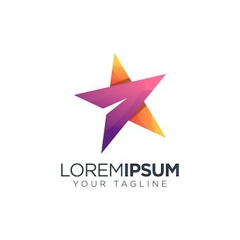 Ikona logo gwiazdy