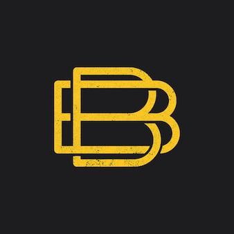 Ikona logo litery b.