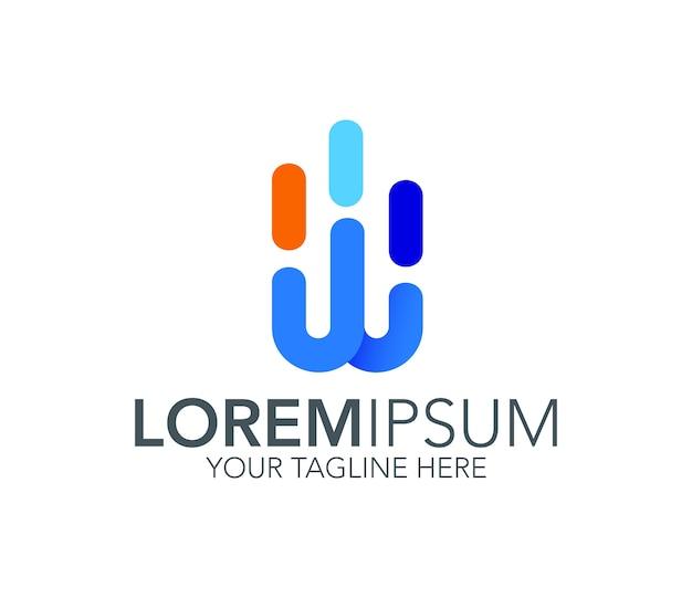 Ikona logo litery w