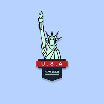Ikona logo odznaka wolności