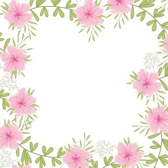 Ikona na białym tle kwiaty