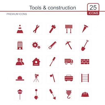 Ikona narzędzia i budowa