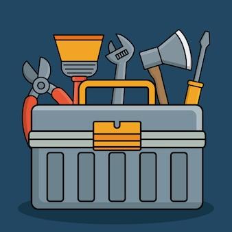 Ikona narzędzia i narzędzia naprawy