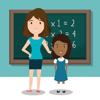 Ikona nauczyciela szkolnego