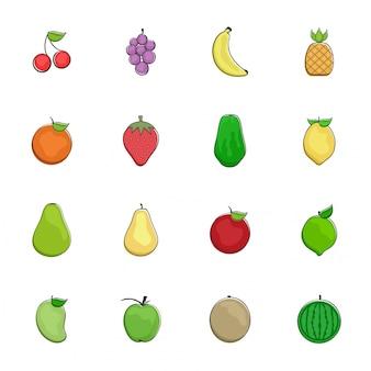 Ikona owoców