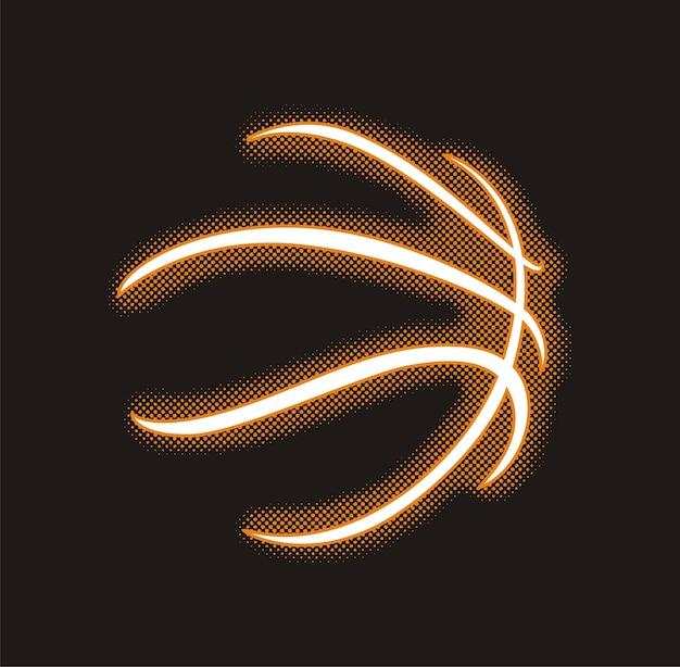 Ikona piłkę do koszykówki