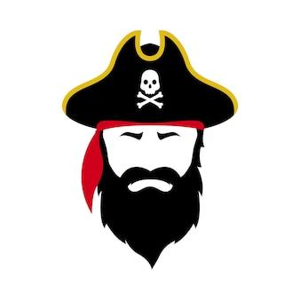 Ikona pirata wektor