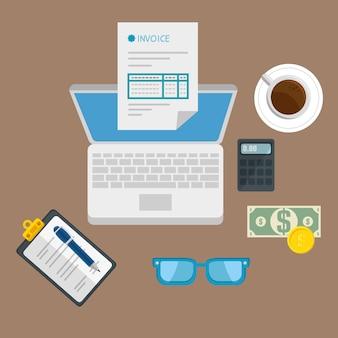 Ikona płatności koncepcja płatności na białym tle