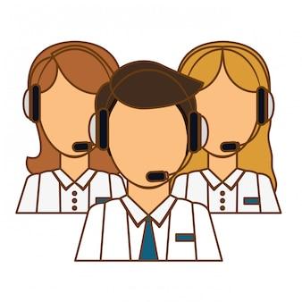 Ikona pomocy technicznej asystentów