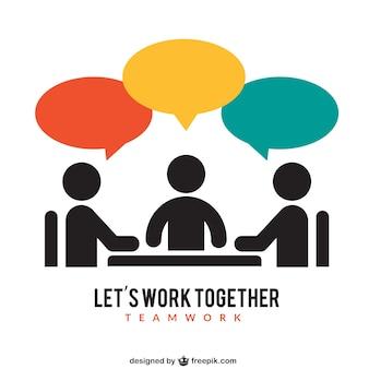 Ikona pracy zespołowej
