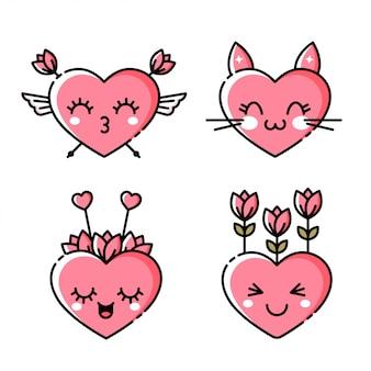 Ikona serca emoji