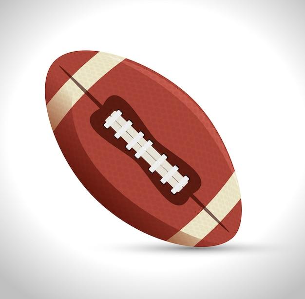 Ikona sportu futbolu amerykańskiego