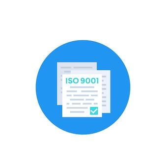 Ikona standardu iso 9001