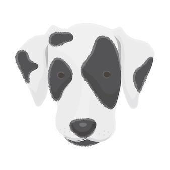 Ikona szczeniak przyjaciel przyjazny dla zwierząt przyjaciel najlepszy przyjaciel