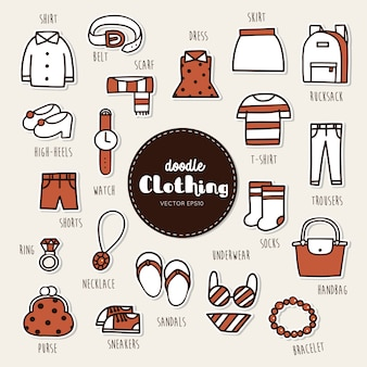 Ikona ubrań