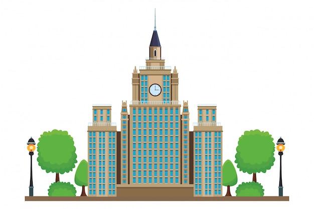 Ikona uniwersytetu państwowego w moskwie
