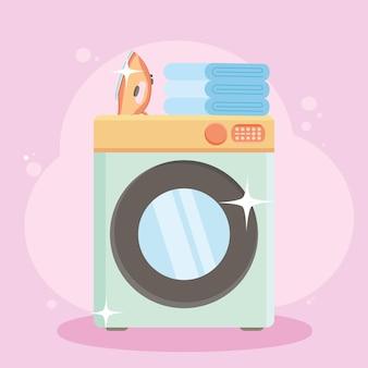 Ikona urządzenia domowego pralki