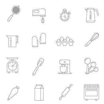 Ikona urządzenia piekarnicze