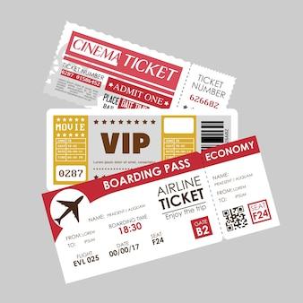 Ikona wejściowa biletu vip