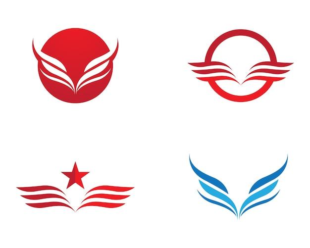 Ikona wektor skrzydło