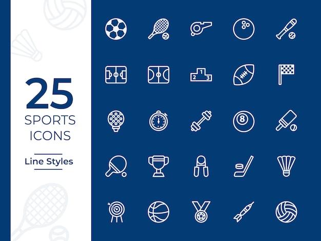 Ikona wektor sportu