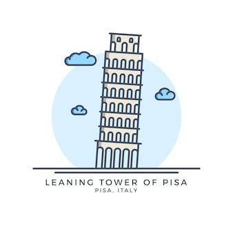 Ikona wieży w pizie