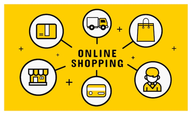 Ikona zakupów online
