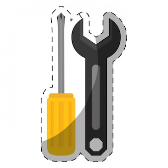 Ikona zapasów warsztatu technicznego