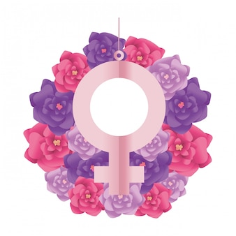 Ikona znak żeńskiej