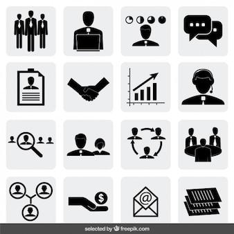 Ikony biznesowe kolekcji