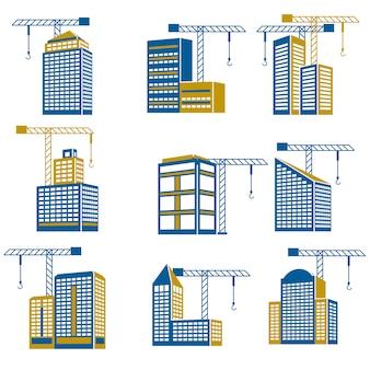 Ikony budowlane budowlane