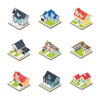 Ikony budynków komercyjnych