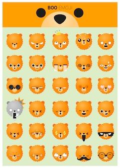 Ikony emoji psa