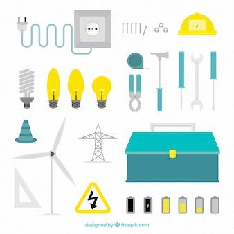 Ikony energii elektrycznej