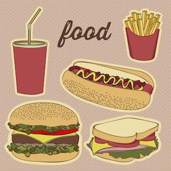Ikony fast food
