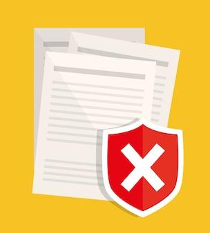 Ikony graficzne systemu prywatności i bezpieczeństwa