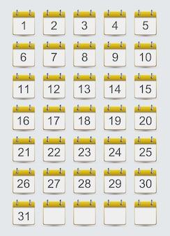 Ikony kalendarza