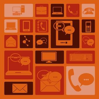 Ikony komunikacji