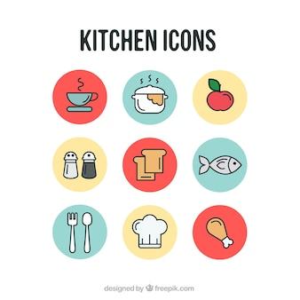 Ikony kuchenne