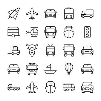 Ikony linii samochodowych