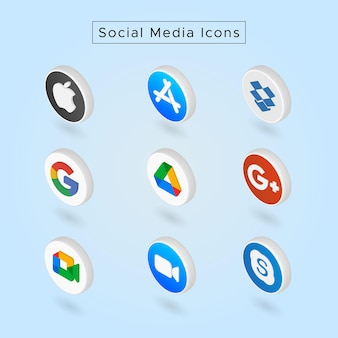 Ikony mediów społecznościowych01