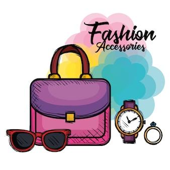 Ikony mody kobiece akcesoria